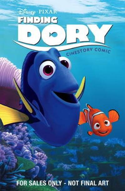 Disney Pixar Finding Dory Cinestory Comic - Disney Pixar