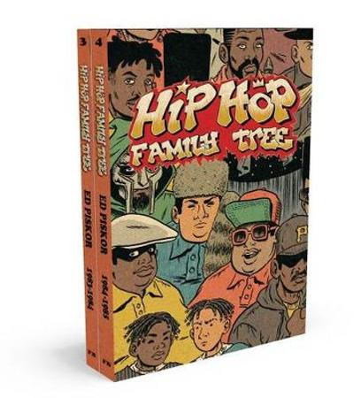 Hip Hop Family Tree 1983-1985 Gift Box Set - Ed Piskor