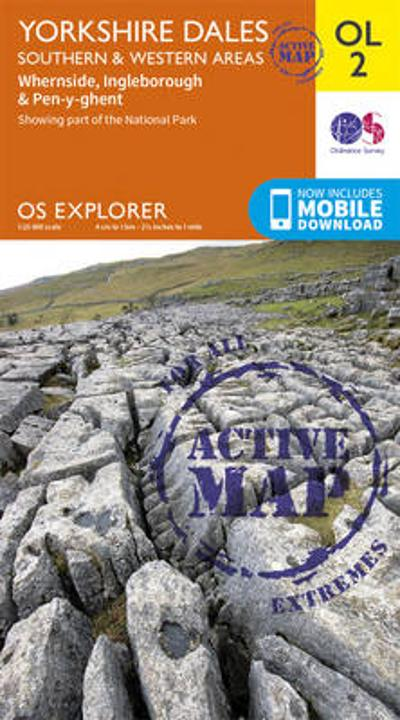 Yorkshire Dales South & Western - Ordnance Survey