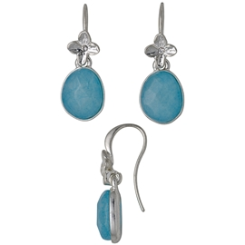 Precious Blue Earrings - Pilgrim