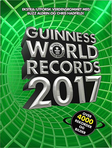Guinness world records 2017 - Tore Sand