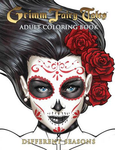 Grimm Fairy Tales Adult Coloring Book Different Seasons - Ralph Tedesco