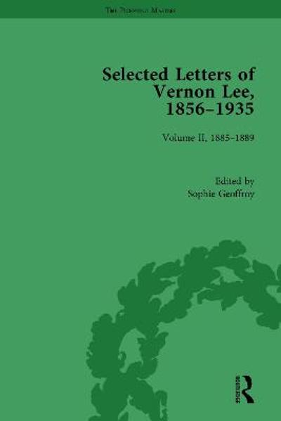 Selected Letters of Vernon Lee, 1856-1935 - Sophie Geoffroy