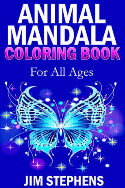Animal Mandala Coloring Book - Jim Stephens