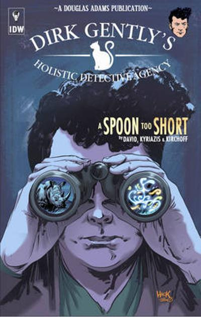 Dirk Gently's Holistic Detective Agency A Spoon Too Short - Arvind Ethan David