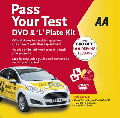 Pass Your Test & 'L' Plate Kit - AA Publishing