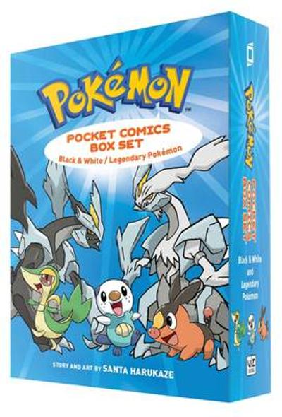 Pokemon Pocket Comics Box Set - Santa Harukaze