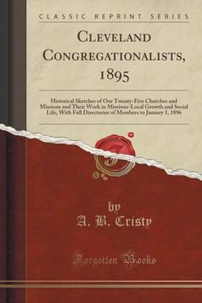 Cleveland Congregationalists, 1895 - A B Cristy