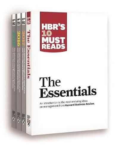 HBR's 10 Must Reads Big Business Ideas Collection (2015-2017 plus The Essentials) (4 Books) (HBR's 10 Must Reads) - Harvard Business Review