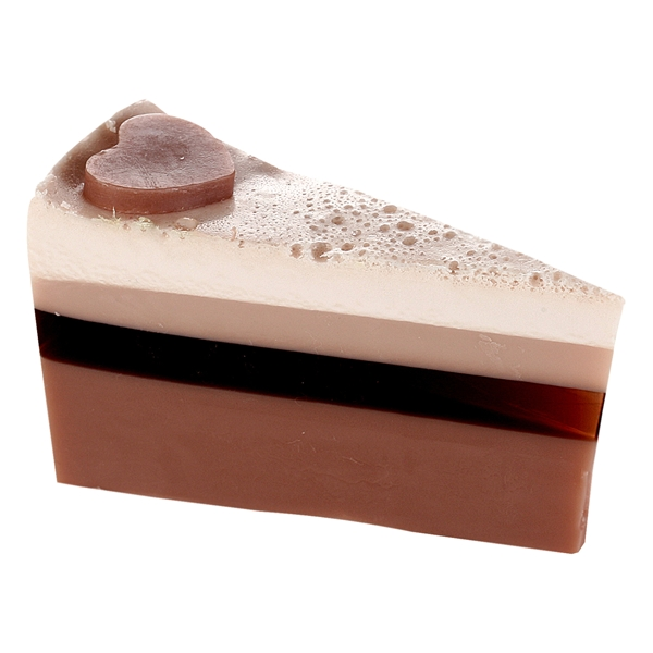 Soap Cakes Slices Chocolate Heaven - Bomb Cosmetics