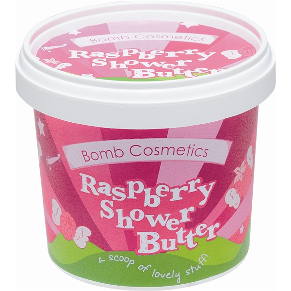 Shower Butter Raspberry - Bomb Cosmetics