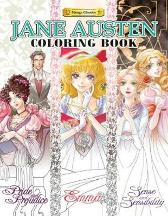 Jane Austen Coloring Book - Jane Austen Erik Ko