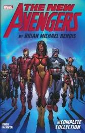 New Avengers By Brian Michael Bendis: The Complete Collection Vol. 1 - Brian Michael Bendis David Finch Steve McNiven