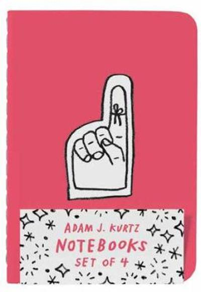 Adam J. Kurtz Notebooks (Set of 4) - Adam J. Kurtz DBA ADAMJK LLC