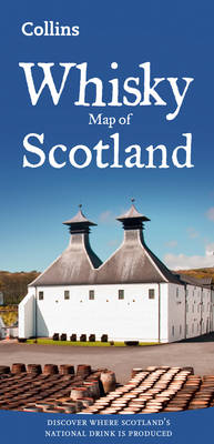 Whisky Map of Scotland - Collins Maps