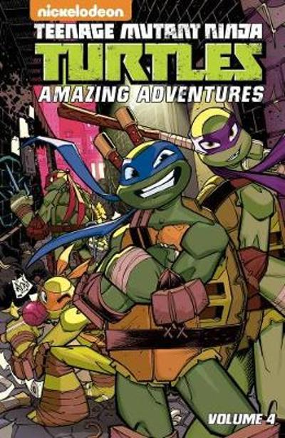 Teenage Mutant Ninja Turtles Amazing Adventures Volume 4 - Caleb Goellner