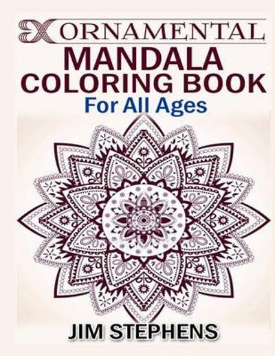 Ornamental Mandala Coloring Book - Jim Stephens