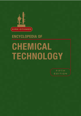 Kirk-Othmer Encyclopedia of Chemical Technology, Volume 3 - R. E. Kirk-Othmer