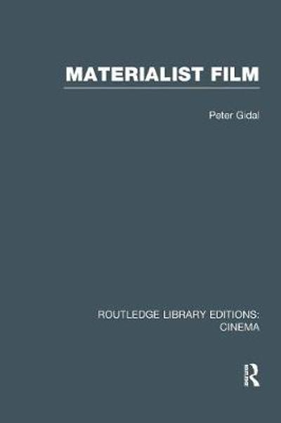 Materialist Film - Peter Gidal
