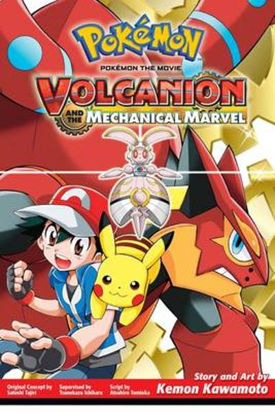 Pokemon the Movie: Volcanion and the Mechanical Marvel - Kemon Kawamoto
