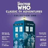 Doctor Who: Classic TV Adventures Collection One - Kit Pedler Gerry Davis Malcolm Hulke Douglas Adams Full Cast Jon Pertwee Patrick Troughton Tom Baker