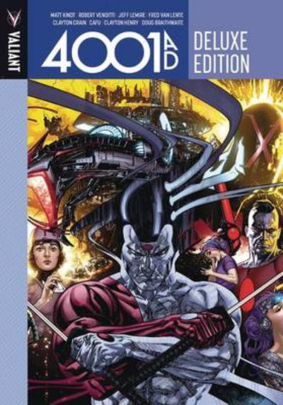 4001 A.D. Deluxe Edition - Matt Kindt