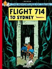 Flight 714 to Sydney - Herge