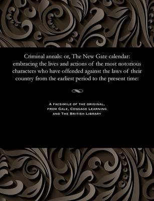 Criminal Annals - James Robertson