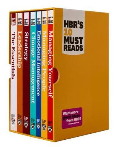 HBR's 10 Must Reads Boxed Set with Bonus Emotional Intelligence (7 Books) (HBR's 10 Must Reads) - Harvard Business Review