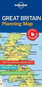 Lonely Planet Great Britain Planning Map - Lonely Planet Lonely Planet