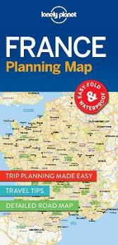 Lonely Planet France Planning Map - Lonely Planet Lonely Planet