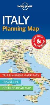 Lonely Planet Italy Planning Map - Lonely Planet Lonely Planet