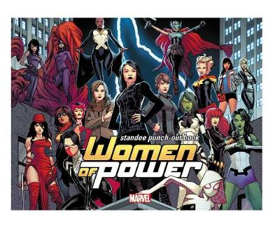 Heroes Of Power: The Women Of Marvel Standee Punch-out Book - Marvel Comics