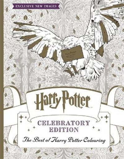 Harry Potter Colouring Book Celebratory Edition -