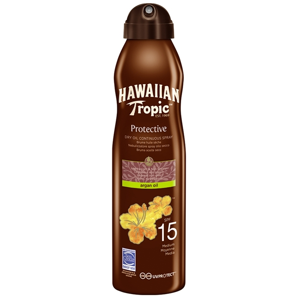 Protective Argan Dry Oil Spray SPF 15 - Hawaiian Tropic