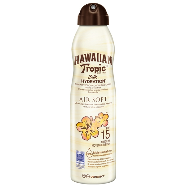 Silk Hydration Air Soft Spray SPF 15 - Hawaiian Tropic