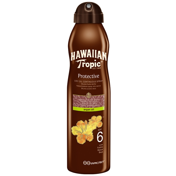Protective Argan Dry Oil Spray SPF 6 - Hawaiian Tropic