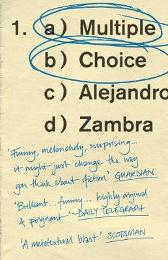 Multiple Choice - Alejandro Zambra Megan McDowell
