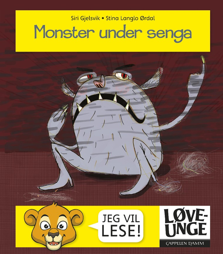 Monster under senga - Siri Gjelsvik