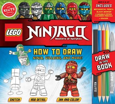 LEGO NINJAGO: How to Draw Ninja, Villains and More - Pat Murphy