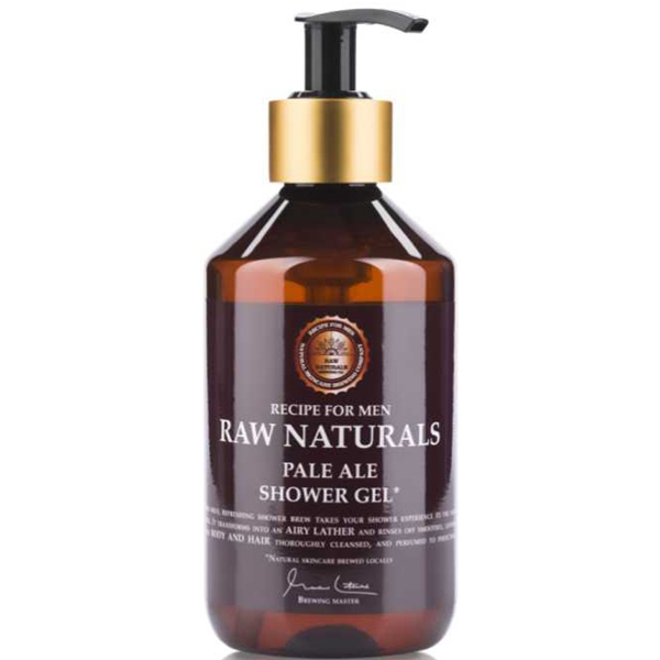 Pale Ale Shower Gel - Raw Naturals