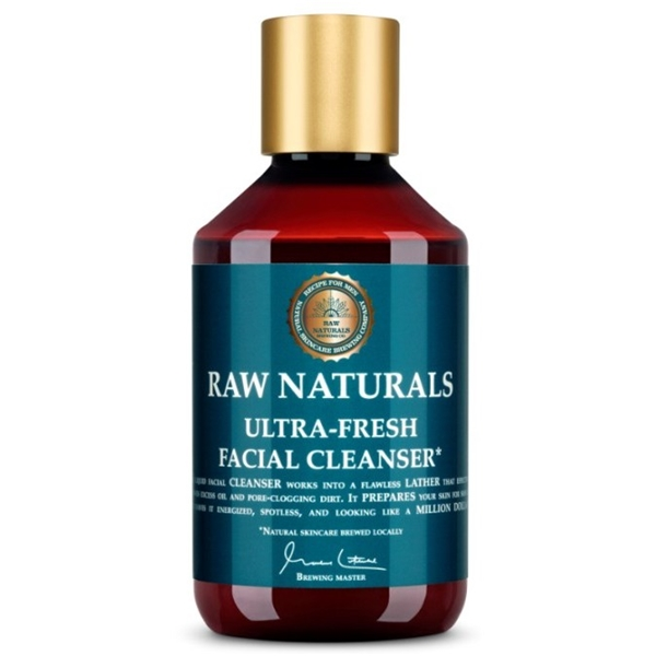 Glacier Water Face Cleansing Fluid - Raw Naturals