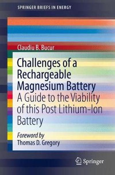 Challenges of a Rechargeable Magnesium Battery - Claudiu B. Bucur