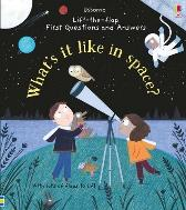 Lift-the-Flap First Questions and Answers What's it like in Space? - Katie Daynes Katie Daynes Christine Pym
