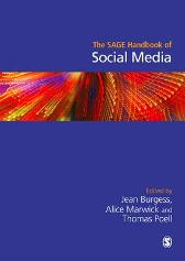 The SAGE Handbook of Social Media - Jean Burgess Alice E. Marwick Thomas Poell