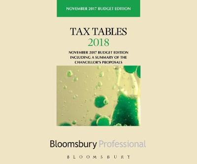 Tax Tables 2018 -