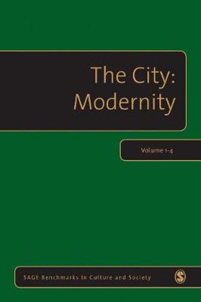 The City: Modernity - Dr. Alan Latham