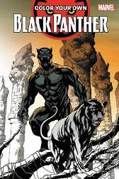 Color Your Own Black Panther - Brian Stelfreeze Chris Sprouse Jack Kirby