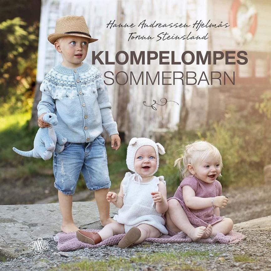 Klompelompes sommerbarn - Hanne Andreassen Hjelmås Torunn Steinsland Hanne Andreassen Hjelmås, strikkeboktips fra Mammutsalget
