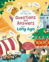 Lift-the-flap Questions and Answers about Long Ago - Katie Daynes Peter Donnelly